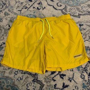 Size 38-40 Yellow XXXL DESMIT Swim Trunks